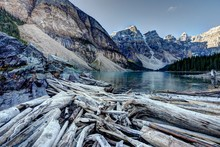 Lake Morin In Canada's Rocky Mountians