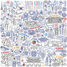 South Korea Traditional Symbol...