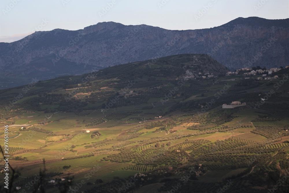 Fototapeta The majestic nature of the island of Crete, eastern Mediterranean