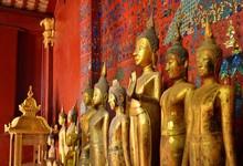 Buddha Statues In Wat Xieng Thong