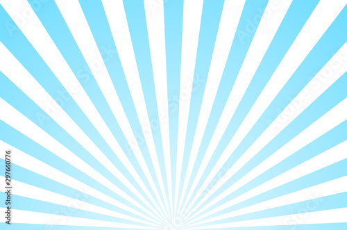 Sun ray retro background vector burst light. Sunrise or sunset retro design