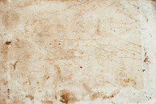 Aging, Worn Paper With Water S...