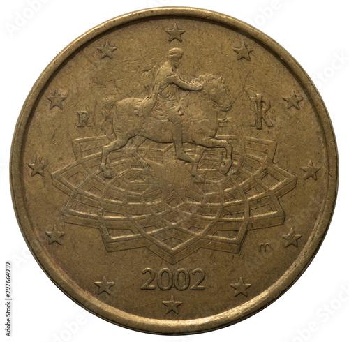 Papel de parede  Euro coin 50 cents 2002