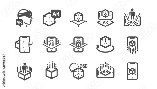 Photo Augmented reality icons