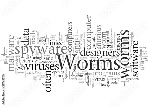 Does Your PC Have Worms фототапет