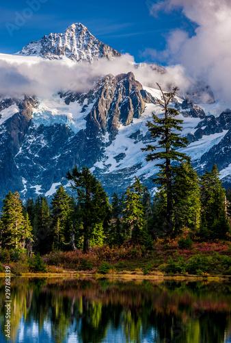Fall mountain peak