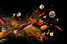 Hot Red Pepper, Garlic, Differ...