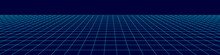 Perspective Grid Background. A...