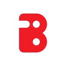 Letter Ib I8 Symbol Logo Vector