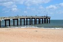 St.  Augustine, Beach, Florida Fishing Pier
