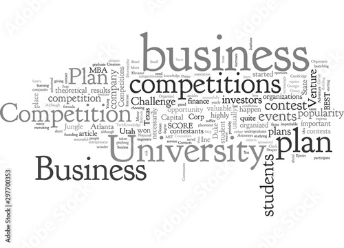 Photo Business Plan Competitions