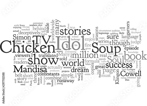 Book Review Chicken Soup For The American Idol Soul Canvas Print