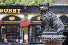 Statue Of Greyfriars Bobby, A ...