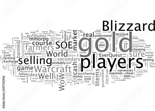 Blizzard and World of Warcraft Gold Sellers Canvas Print