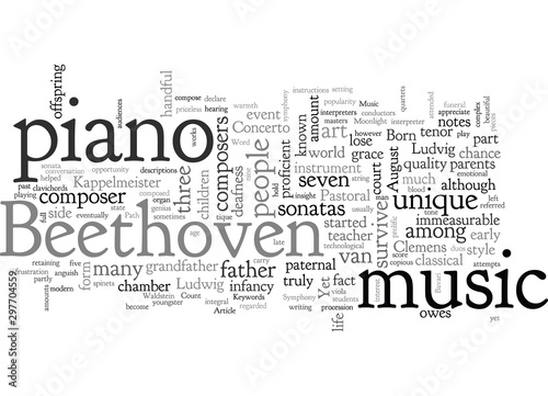 Beethoven Wallpaper Mural