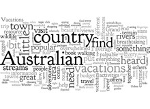Australian Vacations For Everyone