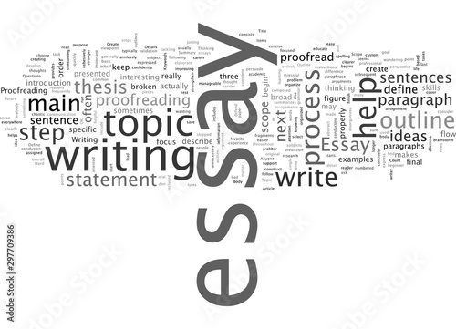 Anyone Can Write an Essay Wallpaper Mural