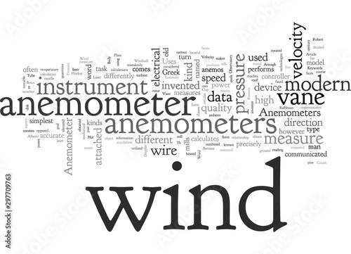 Anemometer Canvas Print