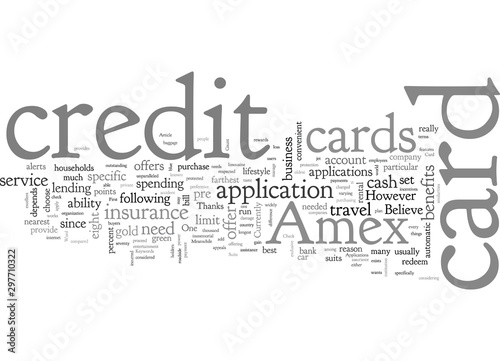 Amex Card Applications That Suits The Unique In You Canvas-taulu