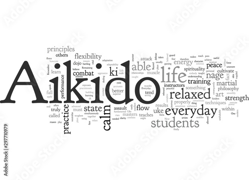 Photo aikido everyday in life
