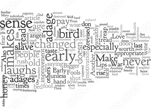 Adages for the New Year Wallpaper Mural
