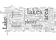 A Tourist Guide To The Italian Lakes