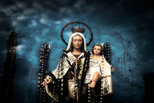 Virgin Mary Figure With Baby J...