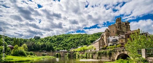 Photo Estaing, Aveyron, Occitanie, France.