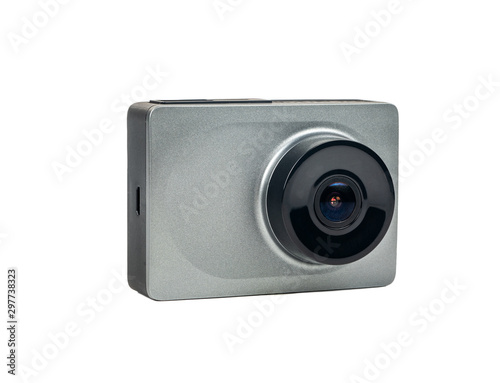 Dashboard camera isolated Wallpaper Mural