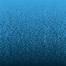 Background Made Of Blue Sequin...