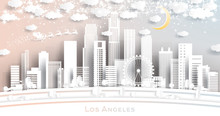 Los Angeles USA City Skyline I...