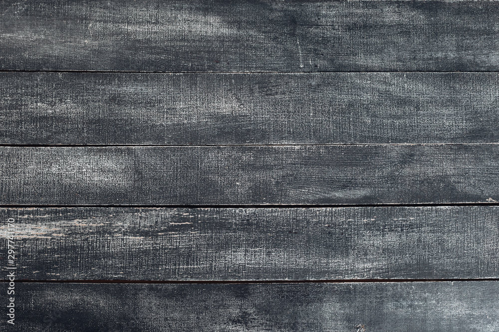 Fototapety, obrazy: old natural  dark black wooden texture backround