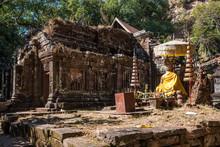 Vat Phou - Wat Phu Temple In S...