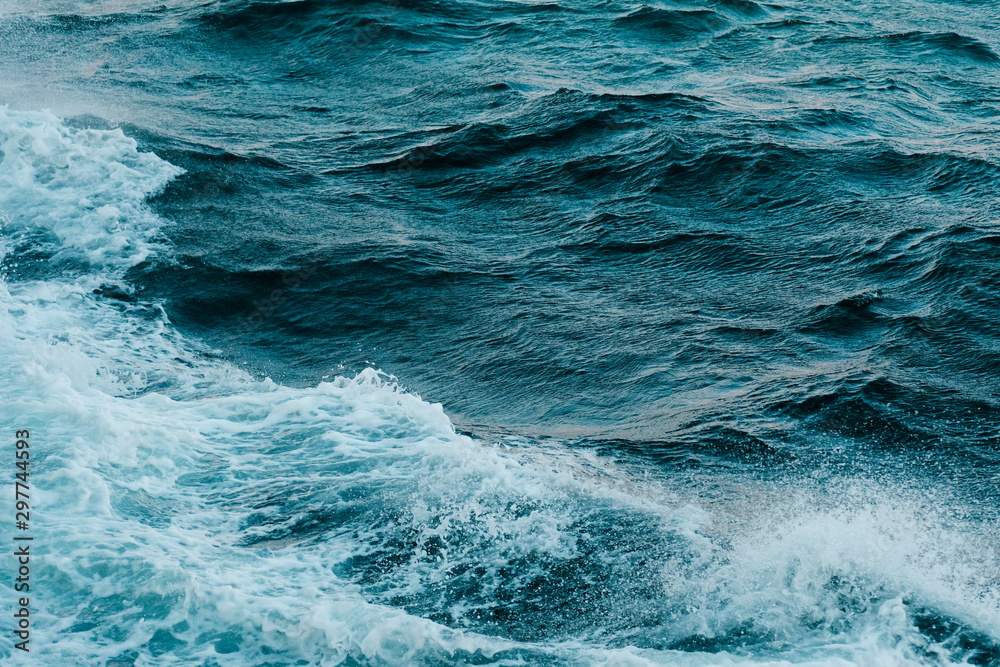 Fototapety, obrazy: sea waves turquoise color