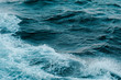 sea waves turquoise color