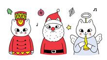 Cartoon Cute Christmas, Soldie...