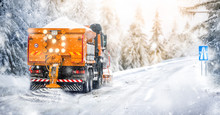 Salting Highway Maintenance. S...