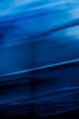 Leinwanddruck Bild - Technology brand abstract background, blue digital virtual reality backdrop design