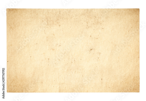 canvas print motiv - vlntn : old paper isolated