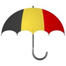 Belgium Flag Umbrella