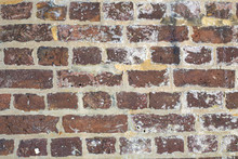 An Old Brick Wall In East Sussex