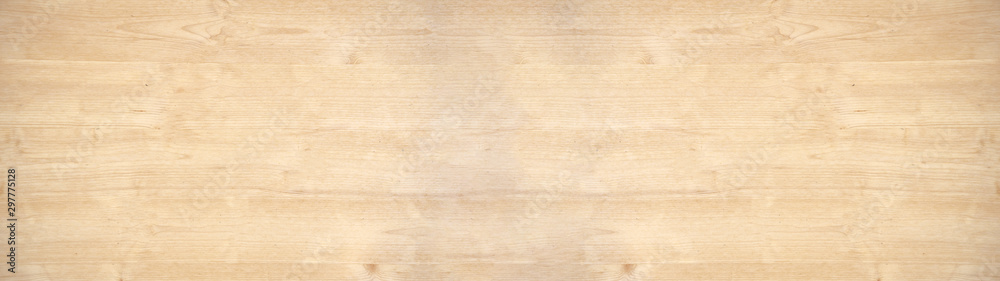 Fototapety, obrazy: old brown rustic light bright wooden texture - wood background panorama banner long