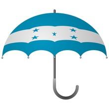 Honduras Flag Umbrella