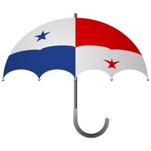 Panama Flag Umbrella