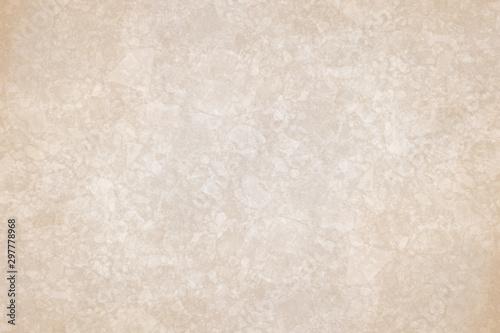 Abstract grunge beige background texture - 297778968