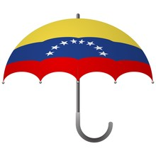 Venezuela Flag Umbrella