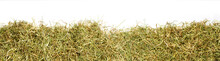 A Bunch Of Hay As Banner, Isol...