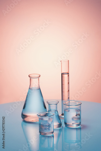 Photo Lab theme. Science and medical background. Place for typohraphy