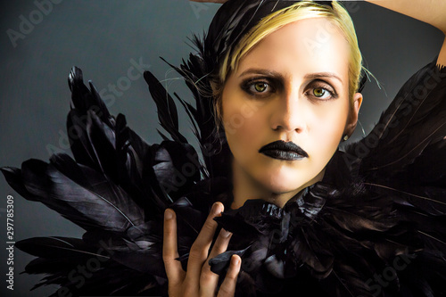 Fototapeta  witch, fairy tale, hero, actor, director, mystery, western,fable, wicked, evil,