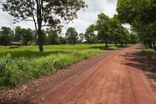 Dirt Road Through Rural Area I...